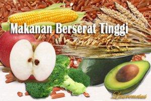 diet alami dengan makanan berserat